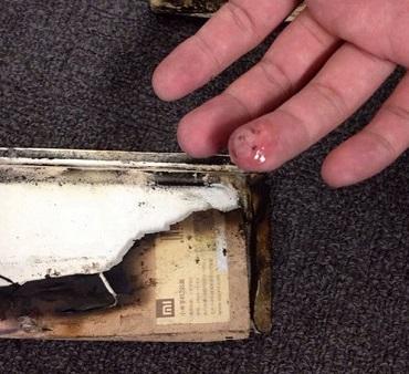 Взорваный телефон Xiaomi mi2s
