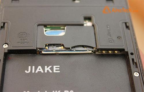 слоты для SIM в Jiake P6