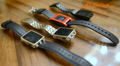 Pebble vs Pebble Steel
