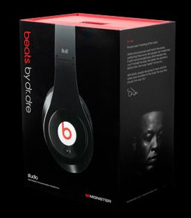 Упаковка Beats Studio Wireless by Dr. Dre