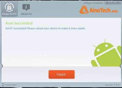 Sony Kingo Android Root - finish