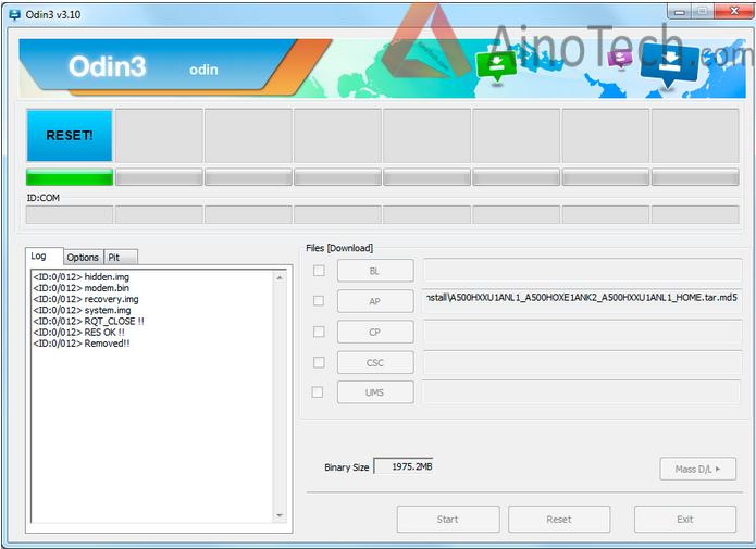 odin3 download mode