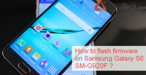 How to flash firmware on Samsung Galaxy S6 SM-G920F