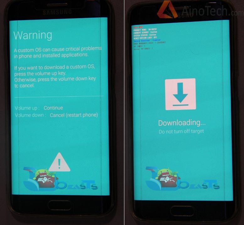 Прошивка MTK6582 Galaxy S6