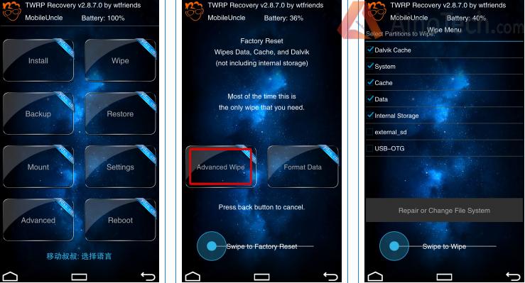recowery Xiaomi Redmi Note 2