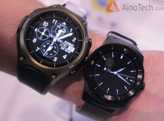 Casio WSDF10 vs LG G Watch R