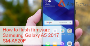 How to flash firmware Samsung Galaxy A5 (2017) SM-A520F