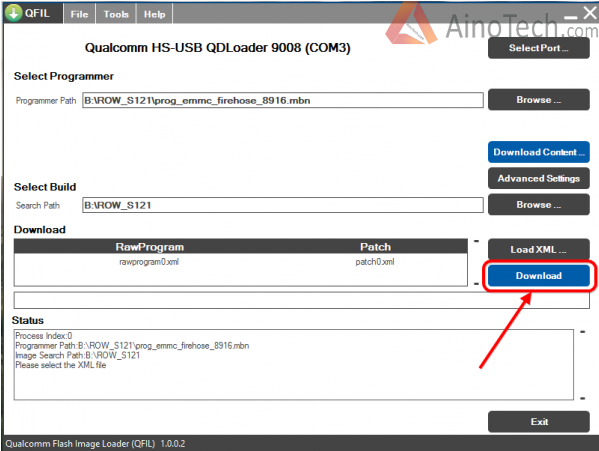 qfil lenovo flash firmware 2
